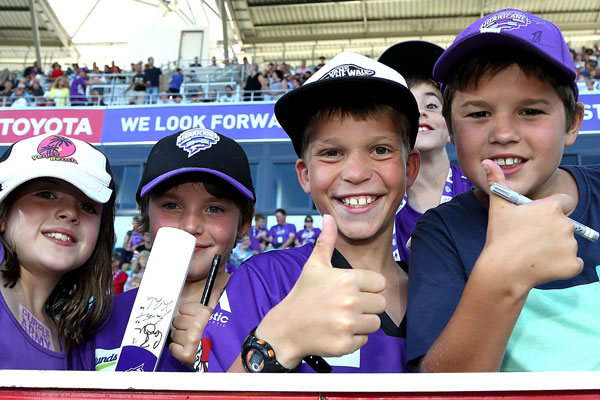 The Big Bash League's primary objective is to attract new fans. Photo: Getty