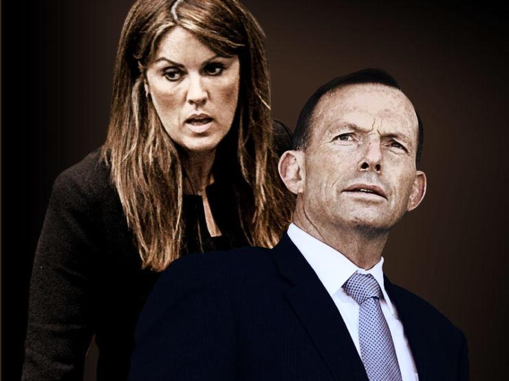Peta Credlin and Tony Abbott