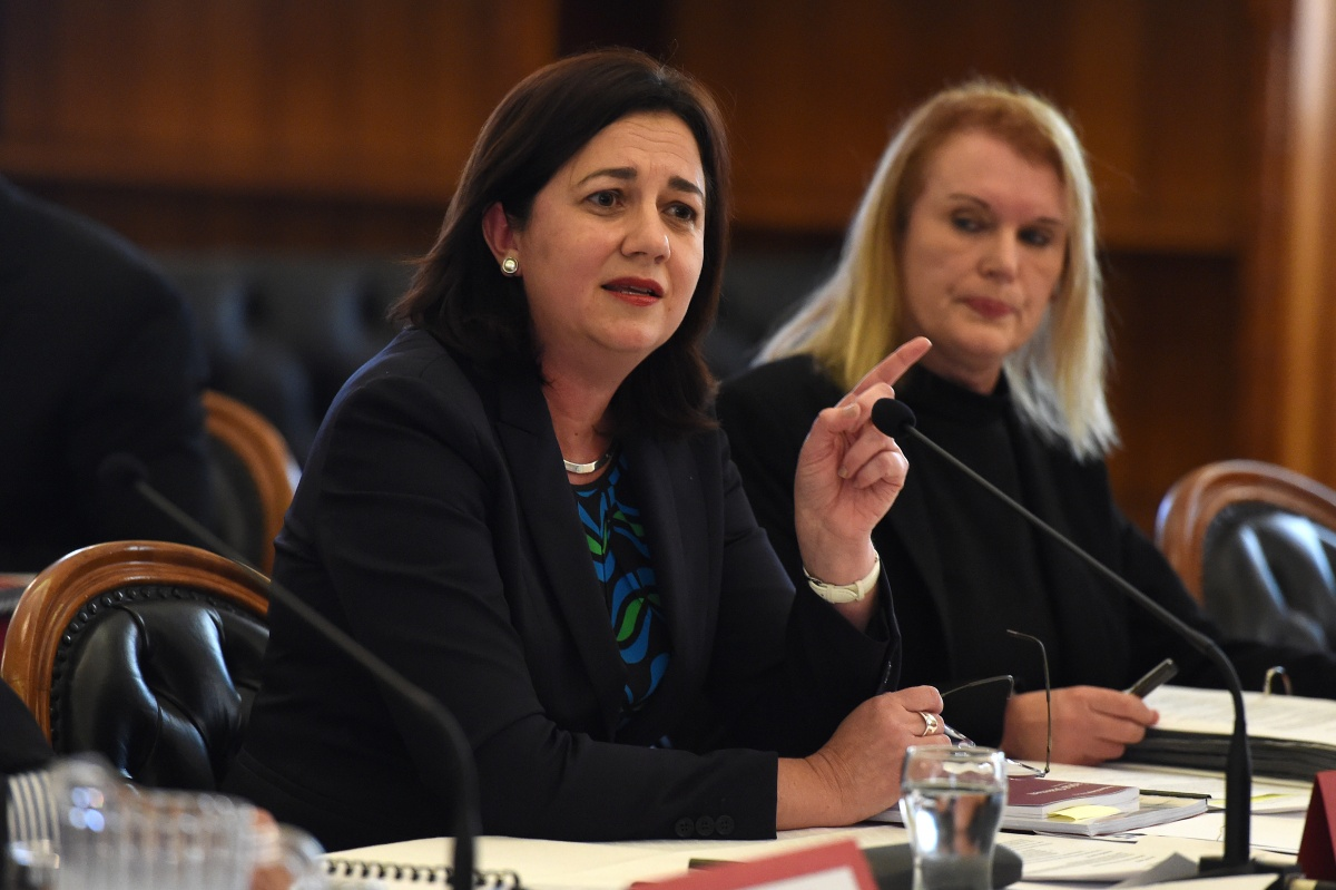 Annastacia Palaszczuk says the government won't bail out Queensland Nickel. Photo: AAP