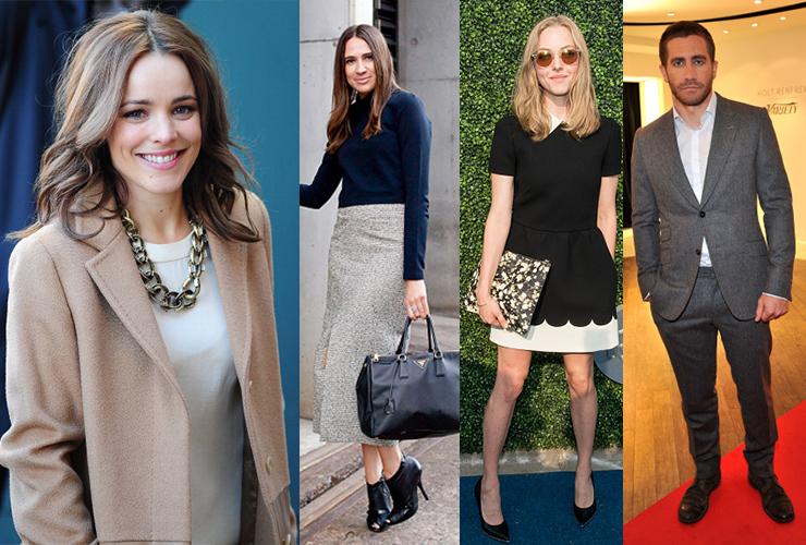 L-R: Rachel McAdams, Lidia Misev, Amanda Seyfriend, Jake Gyllenhaal. Photo: Getty