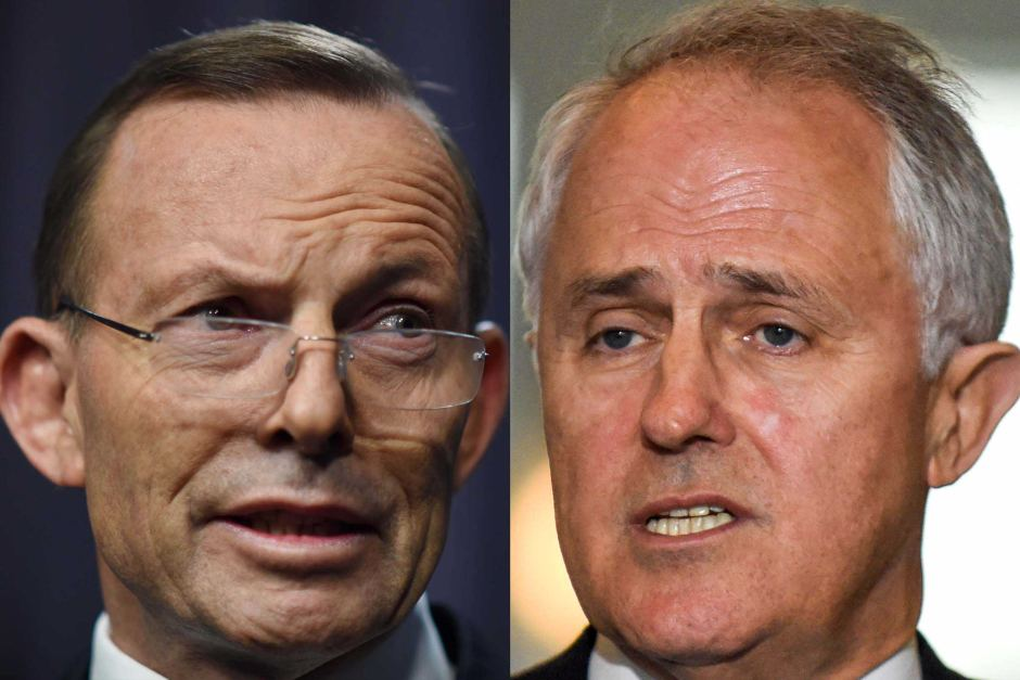 malcolm turnbull and tony abbott