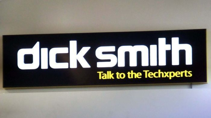 Dick Smith electronics is in a trading halt as it evaluates its financial options.
