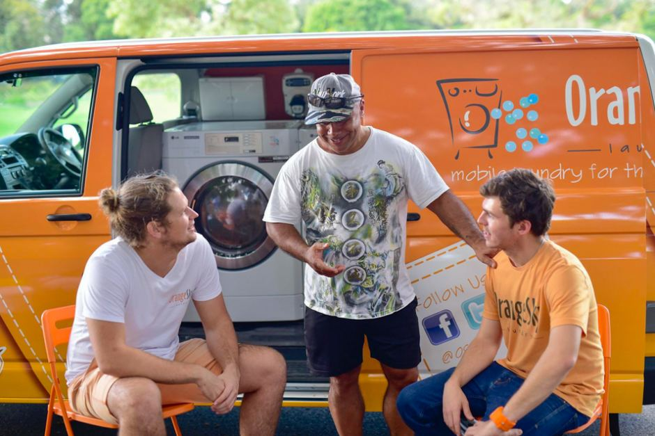 Facebook: Orange Sky Laundry