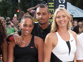 "Nike's ""NYC Street Tennis"" Event"