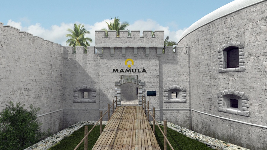 Mamula will keep its mote entrance. Photo: Salt & Water