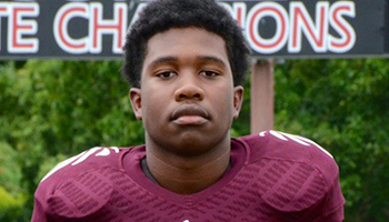 Zaevion Dobson, 15, was tragically killed while protecting his friends from gunfire. Photo: Twitter