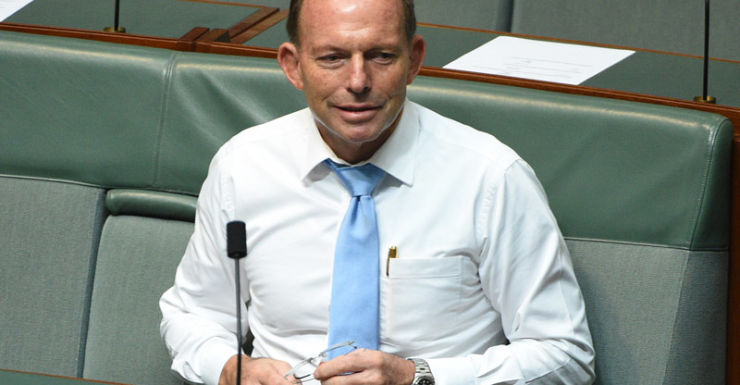 Mr Abbott is keen to remain firmly in his seat of Warringah.