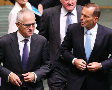 tony abbott malcolm turnbull
