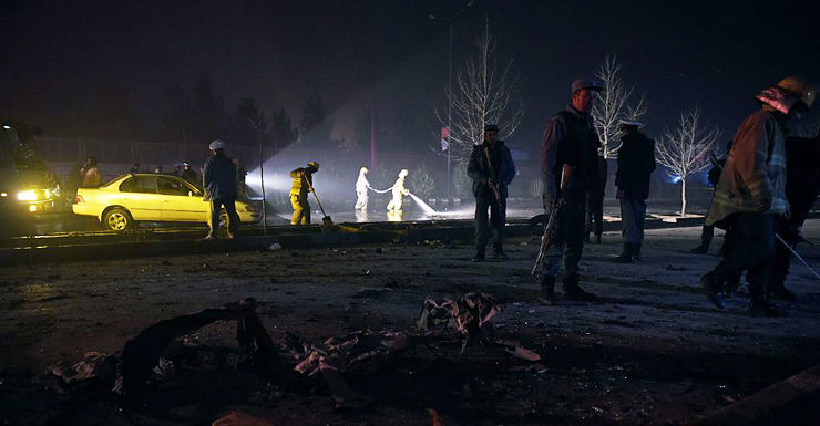afghan suicide bombing