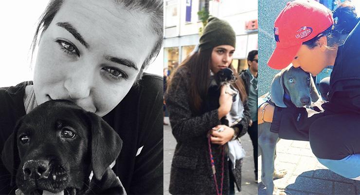 Tomljanovic with her many dogs. Photo: Instagram