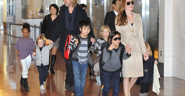 Angelina Jolie Brad Pitt kids