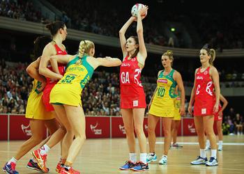 australia vs england netball