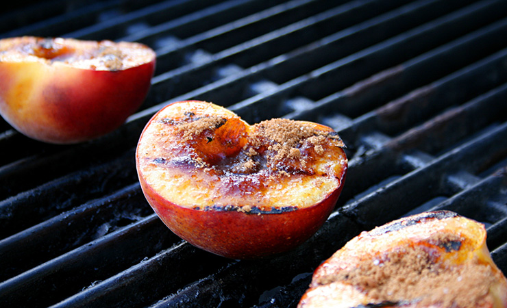 Barbeque fruit is the perfect dessert. Photo: Getty