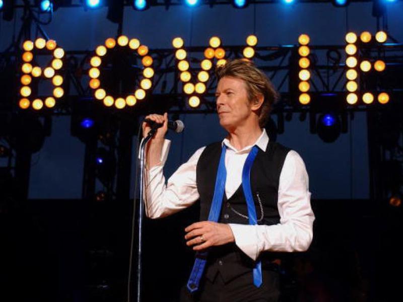 David Bowie, Long island, 2002.