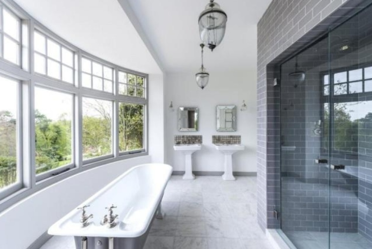 People tend to spend vast sums on fixtures and fittings in bathrooms.