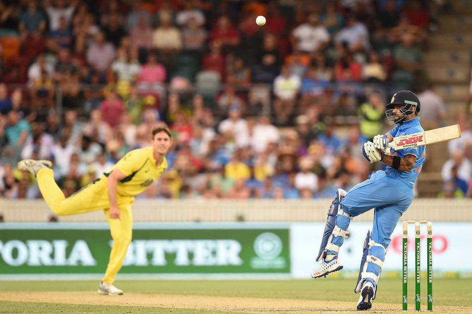 India's Virat Kohli was brilliant as usual.