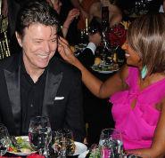 David Bowie Iman Getty