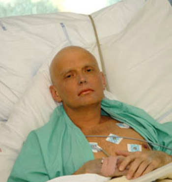Alexander Litvinenko died in 2006.