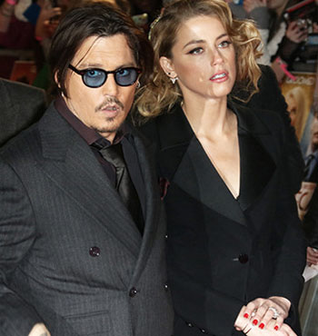 Johnny Depp's wife Amber Heard faced court for illegally importing their two dogs into Australia on a private jet.