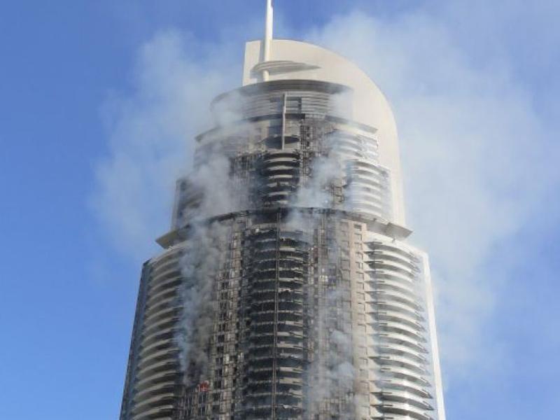Dubai hotel fire
