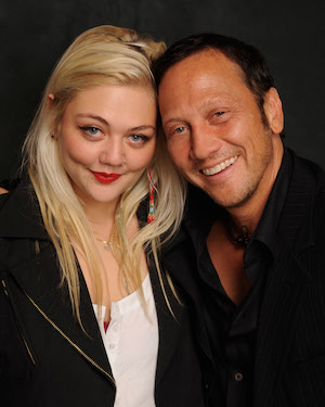 Elle King Rob Schneider Getty