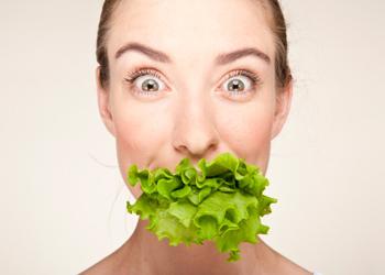 diet vegetable face