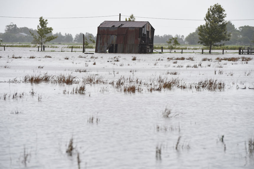 Several areas have been dramatically impacted. Photo: AAP