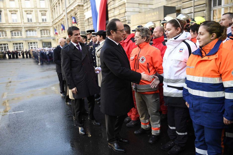 Mr Hollande defended draconian security measures in Paris. Photo: AFP