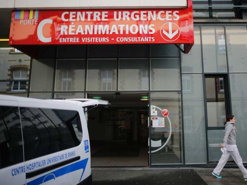 Six volunteers were taken to hospital after anomalies in the trial.