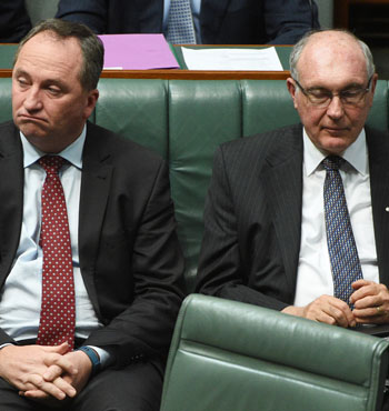 Ms Bishop warned not to jump the gun on talking about Mr Truss' successor.