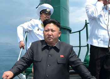Kim Jong-un has no military training at all.