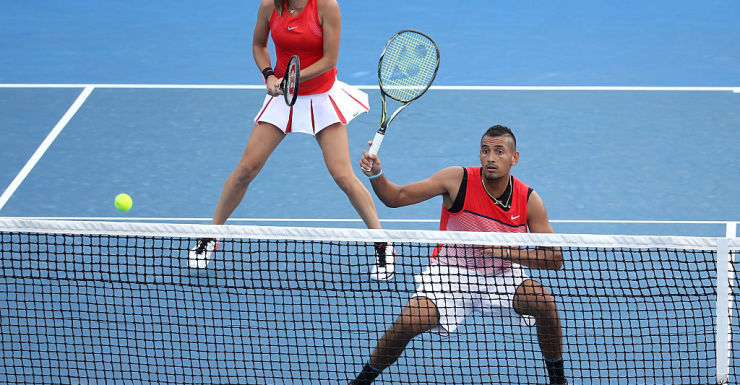 Nick Kyrgios and Ajla Tomljanovic