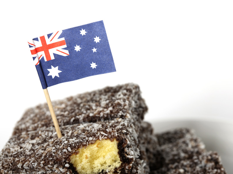 The not so Aussie treat.