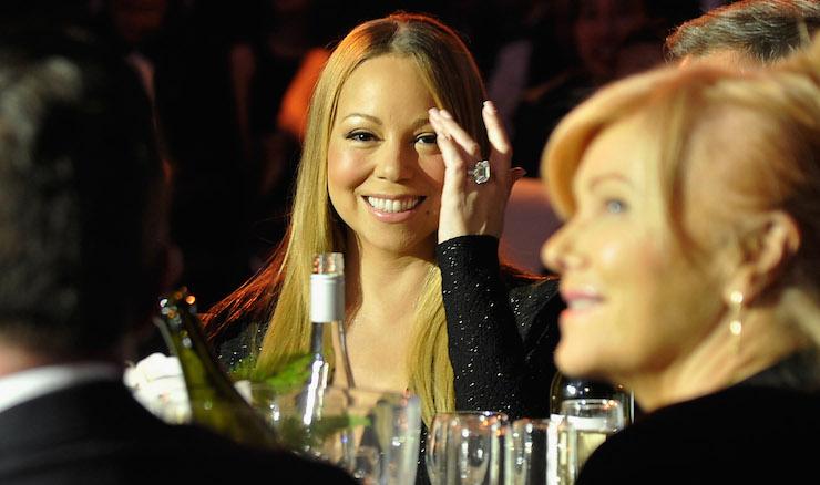 Mariah Carey at the G'Day LA Gala. Photo: Getty
