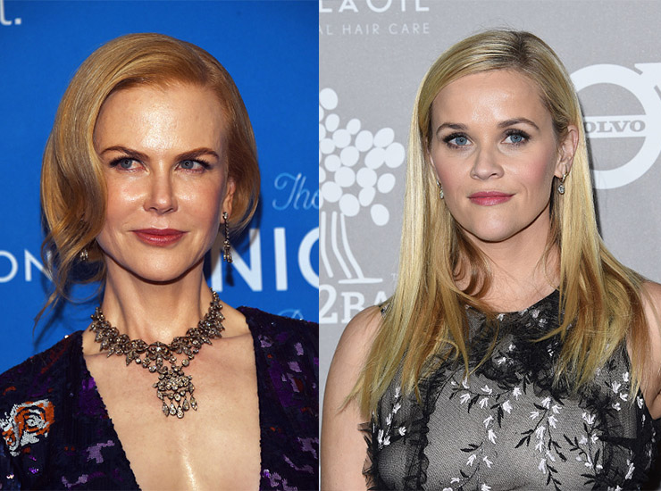 Nicole Kidman and Reese Witherspoon play kindergarten mothers. Photo: Getty