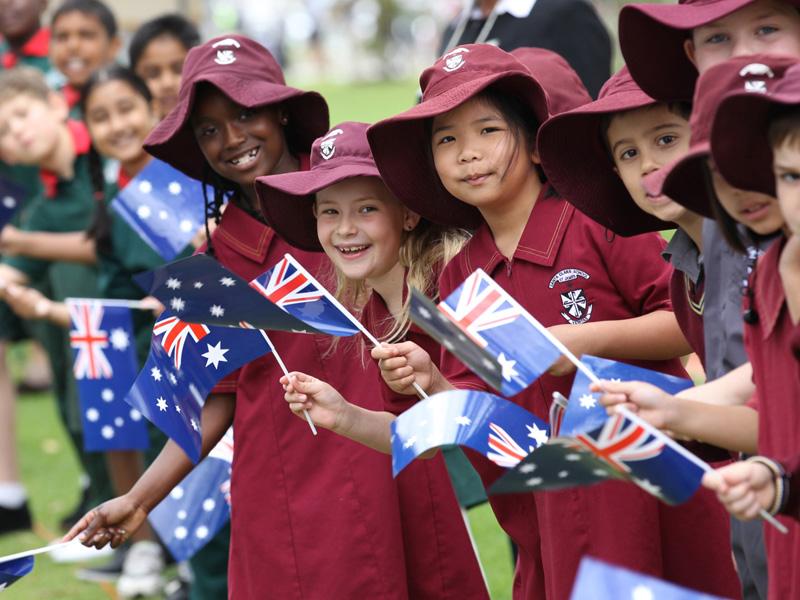 school children australia