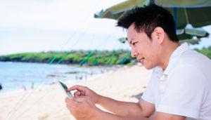smartphonepicbeach