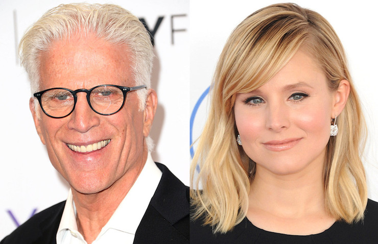 Ted Danson and Kristen Bell co-star.
