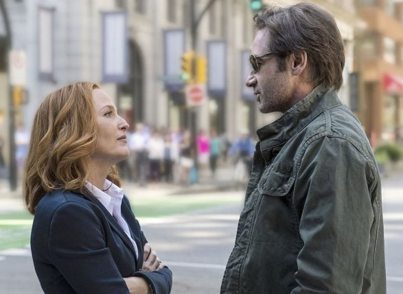 Mulder and Scully return to TV.