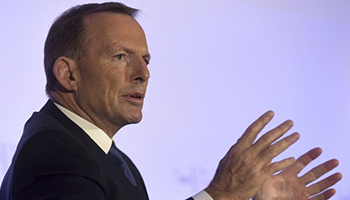 Mr Abbott has remained in the spotlight since being deposed as PM.