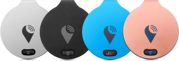 The TrackR shows you the distance between you and your lost item.