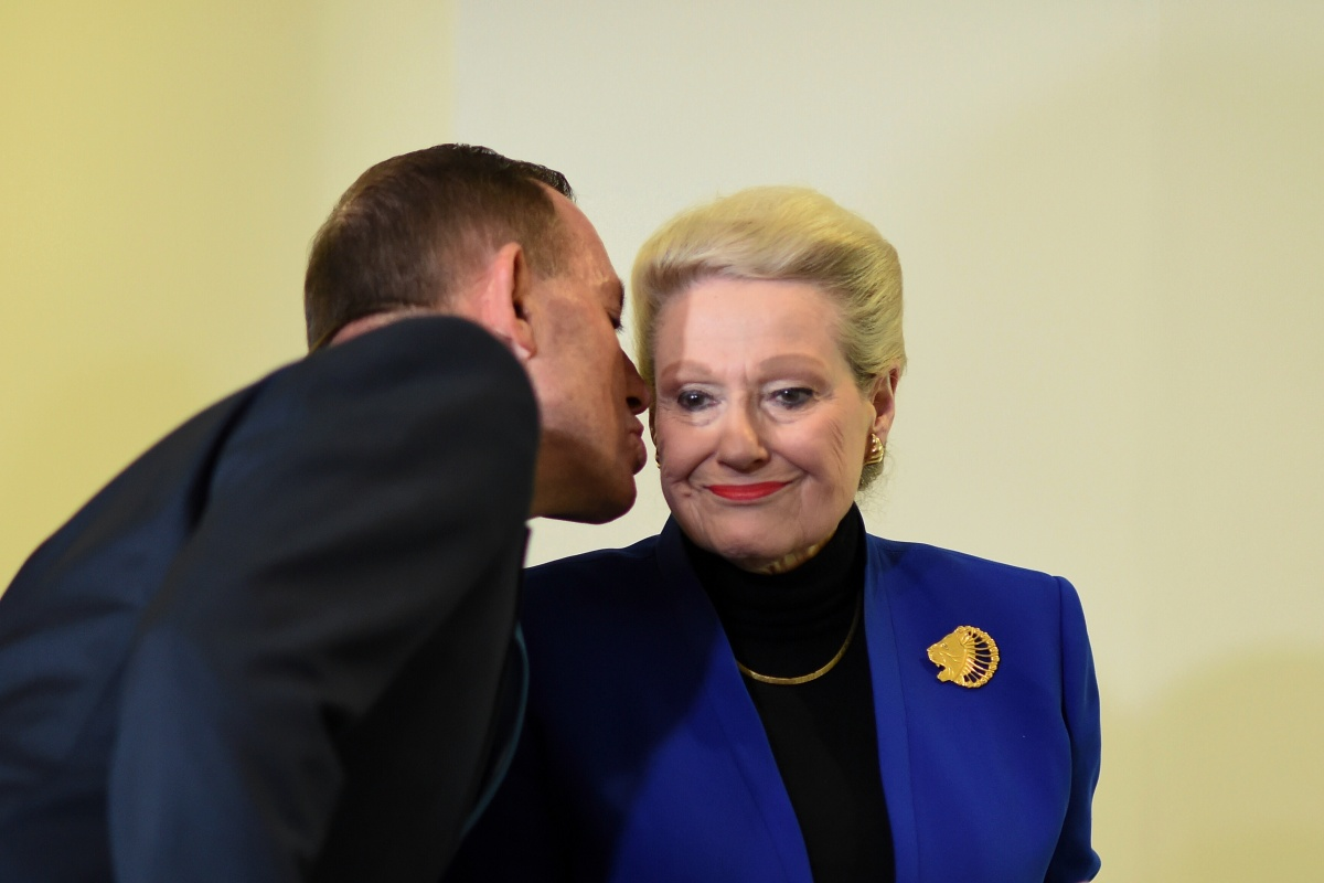 Bronwyn Bishop Tony Abbott