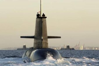 12 new submarines will be bought by Australia. Photo: ABC