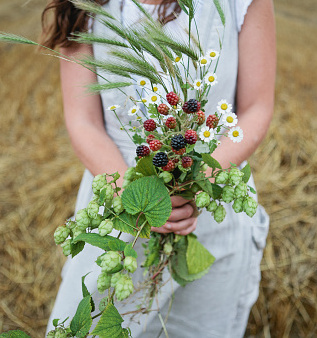 If giving flowers to someone, be inventive. Photo: Getty