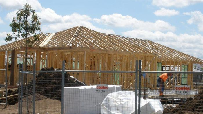 Home building has been a major support for business conditions in the eastern states.