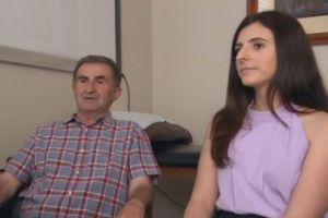 Tanya Josevska is optimistic about her father's future. Photo: ABC