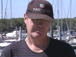 Graham Marr says his yacht was his pride and joy. Photo: ABC