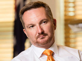 Chris Bowen: staying on-message on property tax reform. Photography by Andrew Taylor