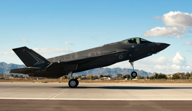 F-35A Lighting II Joint Strike Fighter.