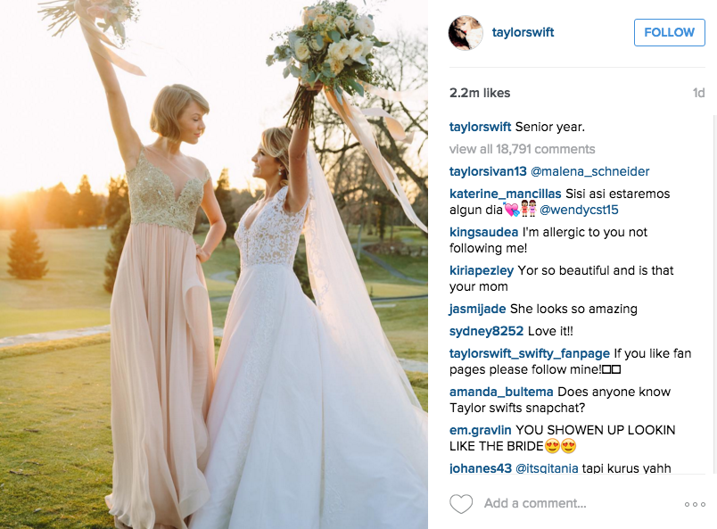 Taylor Swift Attends Wedding Of Pre Fame Friend The New Daily